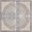 Keros Decor Sphere Crema padlólap 48,5x48,5 I.oszt.