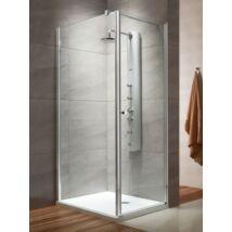 Radaway Eos KDJ 90x90 zuhanykabin, jobbos, króm, átlátszó üveggel + zuhanytálca