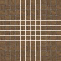 Kwadro - Loft Brown Wood Pressed Mosaic dekorcsempe 29,8x29,8 I.oszt