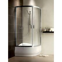 Radaway Premium Plus A 1700 90x90x170 íves zuhanykabin átlátszó üveggel, görgős