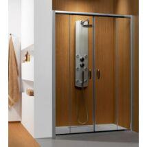 Radaway Premium Plus DWD 140x190 zuhanykabin tolóajtó átlátszó üveggel