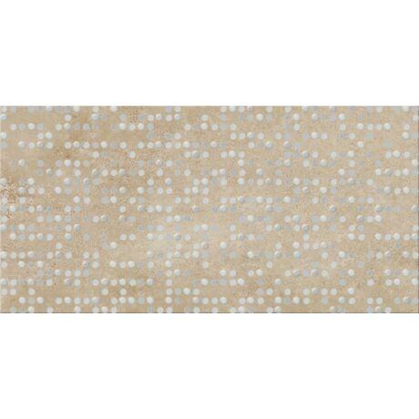 Cersanit - Normandie Beige Inserto Dots Dekor 29,7x59,8 I.oszt
