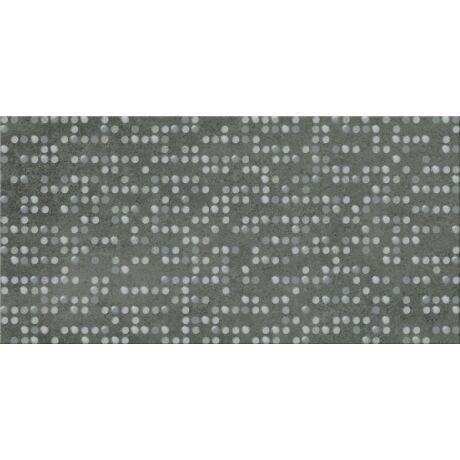 Cersanit - Normandie Graphite Inserto Dots Dekor 29,7x59,8 I.oszt