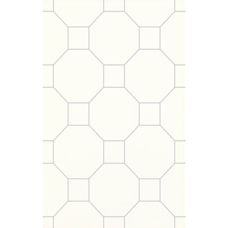 Kwadro - Martynika Bianco Inserto dekor falicsempe 25x40 I.oszt