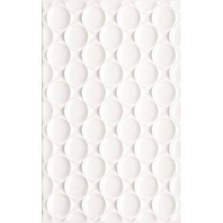 Kwadro - Martynika Bianco Structure falicsempe 25x40 I.oszt