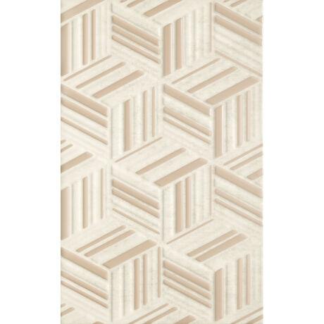 Kwadro - Rubi Beige Structure falicsempe 25x40 I.oszt