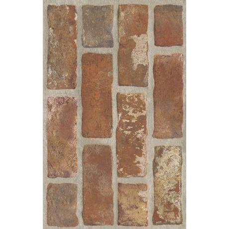 Kwadro - Loft Brown Brick falicsempe 25x40 I.oszt