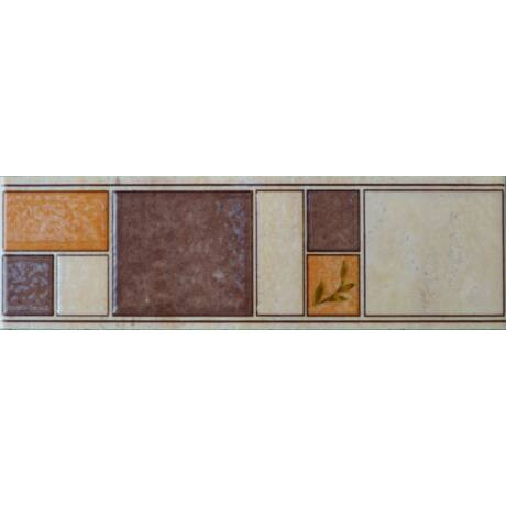 Valore - Lorca Brown Listello 7,5x25 I.oszt